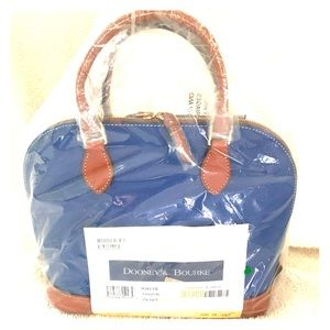 Dooney and Bourke French Blue Satchel